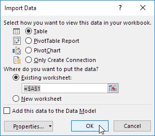 چگونگی انتقال اطلاعات فایل اکسس در داخل فایل اکسل (Import Access Data)
