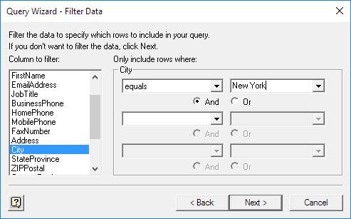 چگونگی وارد کردن اطلاعات یک فایل اکسس به داخل یک فایل اکسل با استفاده از ویژگی Microsoft Query Wizard