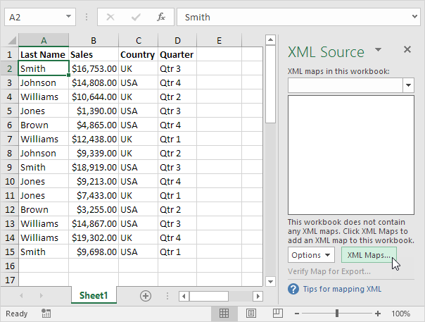 چگونگی تبدیل فایل XML به اکسل و تبدیل اکسل به XML