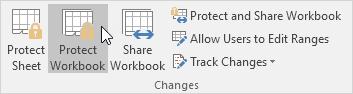چگونگی محافظت (protect) از ساختار فایل های اکسل