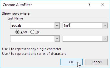 چگونگی به کار بردن فیلترهای عددی (number filter) و فیلترهای متنی (text filter) در اکسل