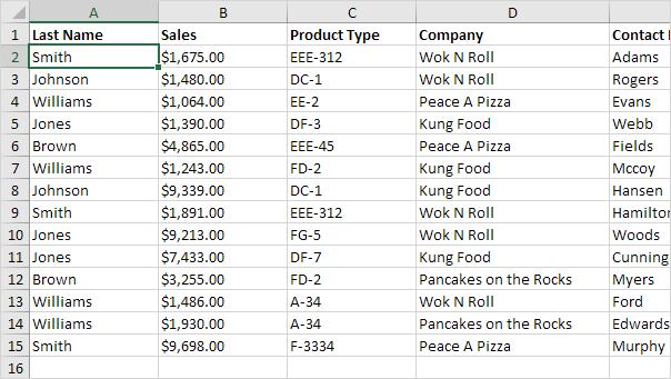 چگونگی استفاده از ویژگی Data Form در اکسل