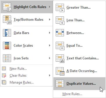 چگونگی پیدا کردن رکوردهای تکراری در اکسل (Find Duplicates)