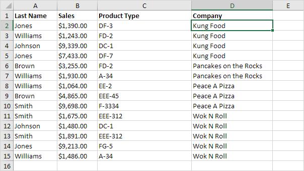 چگونگی کار با ویژگی Outlining Data در اکسل
