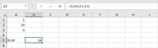 چگونگی کار با ویژگی Subtotal (زیرجمع) در اکسل