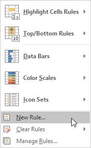 چگونگی مقایسه دو لیست یا استفاده از ویژگی قالب بندی شرطی (conditional formatting) در اکسل