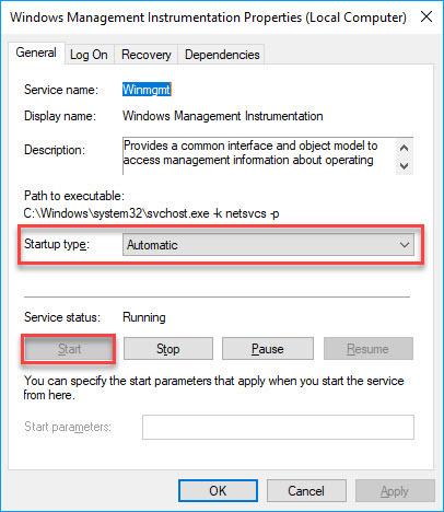 برطرف کردن ارور cannot connect to WMI provider 0x80070422 در SQL Server . آموزشگاه رایگان خوش آموز