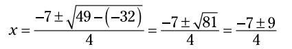 فرمول حل معادله درجه دوم (Quadratic Formula)