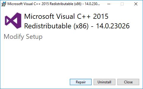 برطرف کردن ارور api-ms-win-crt-runtime-l1-1-0.dll  . آموزشگاه رایگان خوش آموز