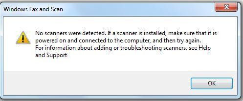 رفع ارور No scanners were detected . آموزشگاه رایگان خوش آموز