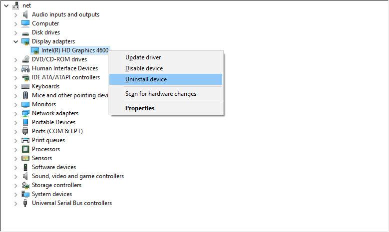رفع ارور Can't find the name of Intel ICD OpenGL driver . آموزشگاه رایگان خوش آموز