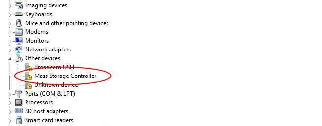 رفع خطای Mass Storage Controller در کنسول Device manager ویندوز . آموزشگاه رایگان خوش آموز