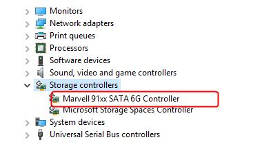 رفع مشکل Marvell 91xx در Device manager ویندوز . آموزشگاه رایگان خوش آموز