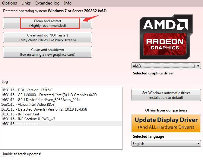 رفع ارور Default Radeon WattMan settings have been restored due to unexpected system failure . آموزشگاه رایگان خوش آموز
