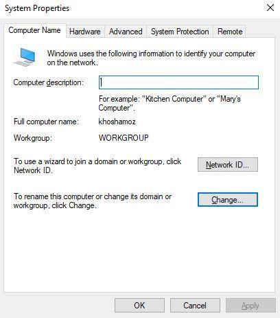 نحوه join کردن کامپیوترها به دامین و disjoin کردن آنها  . آموزشگاه رایگان خوش آموز