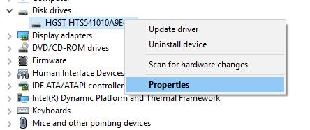 نمایش RPM یا دور در دقیقه هارد دیسک . آموزشگاه رایگان خوش آموز