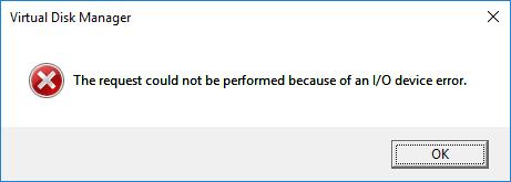 رفع ارور an I/O Device Error . آموزشگاه رایگان خوش آموز