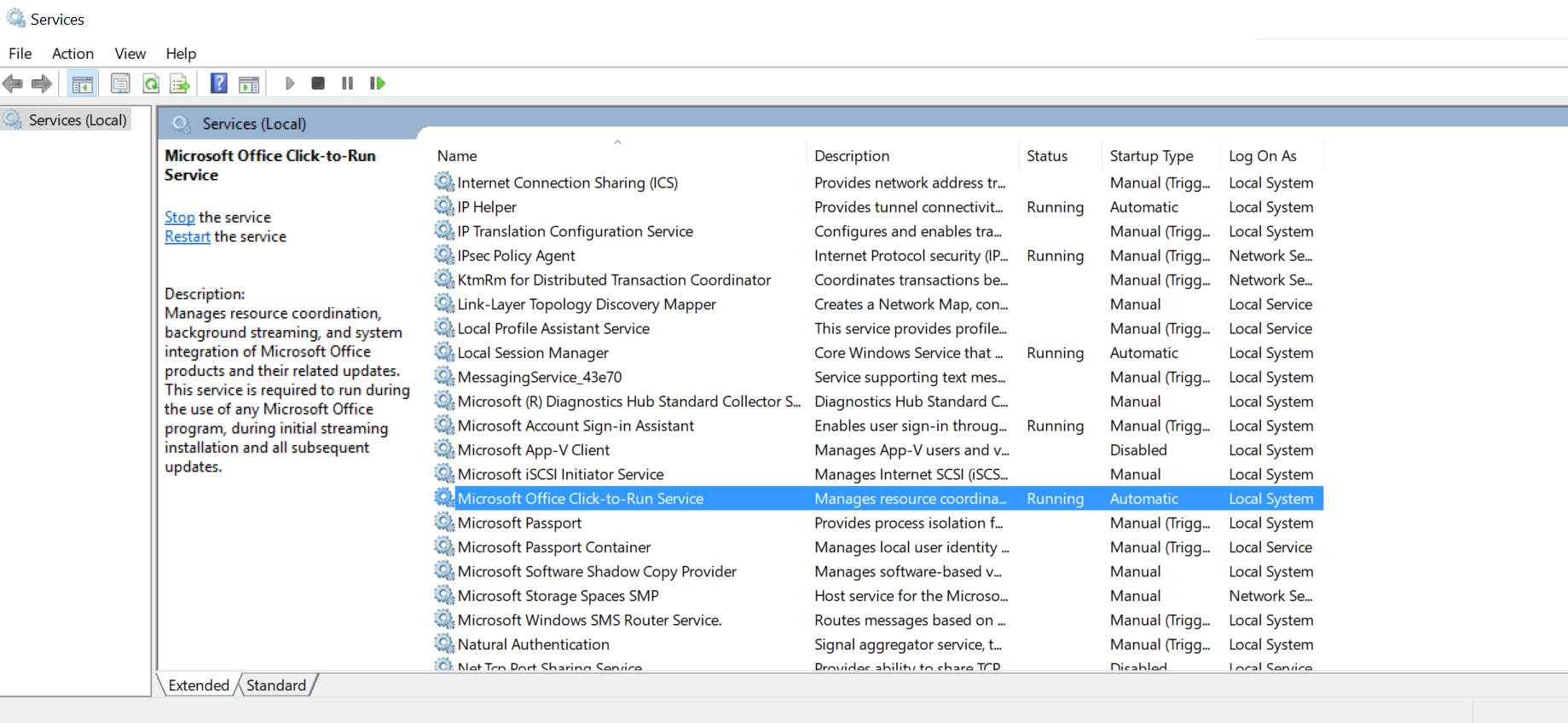 ارور Something Went Wrong Error 1058-13 هنگام نصب مایکروسافت آفیس . آموزشگاه رایگان خوش آموز