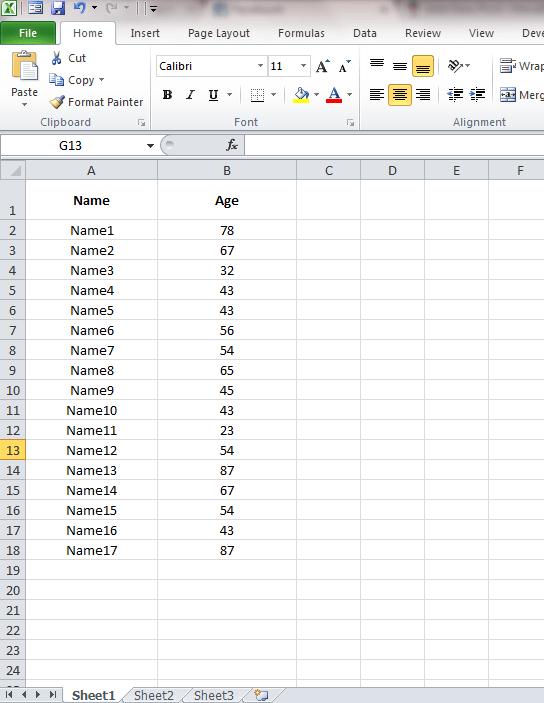 تعیین مقدار minimum و maximum در سلولهای اکسل . آموزشگاه رایگان خوش آموز