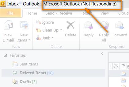 برطرف کردن مشکل  Outlook Not Responding و عدم اجرای صحیح نرم افزار اوت لوک . آموزشگاه رایگان خوش آموز