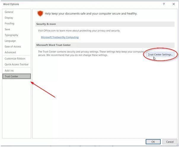 رفع ارور You are attempting to save a file that is blocked by your Registry policy setting  . آموزشگاه رایگان خوش آموز