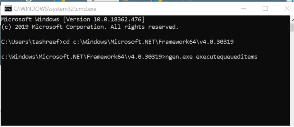 مصرف زیاد CPU توسط فرآیند NET runtime optimization . آموزشگاه رایگان خوش آموز
