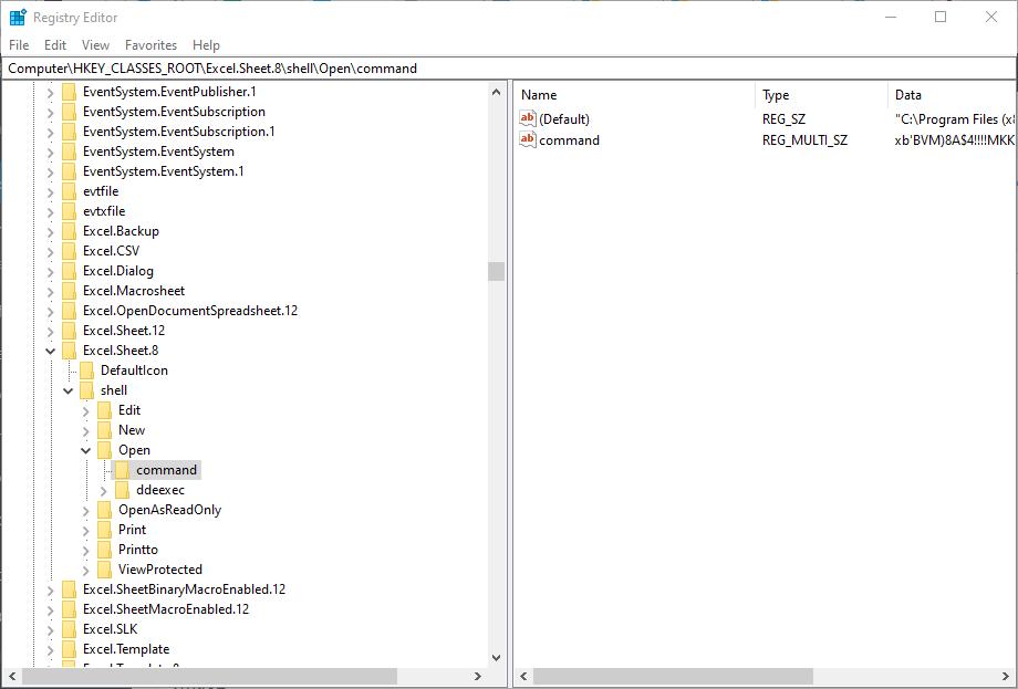رفع ارورExcel file could not be found در اکسل . آموزشگاه رایگان خوش آموز