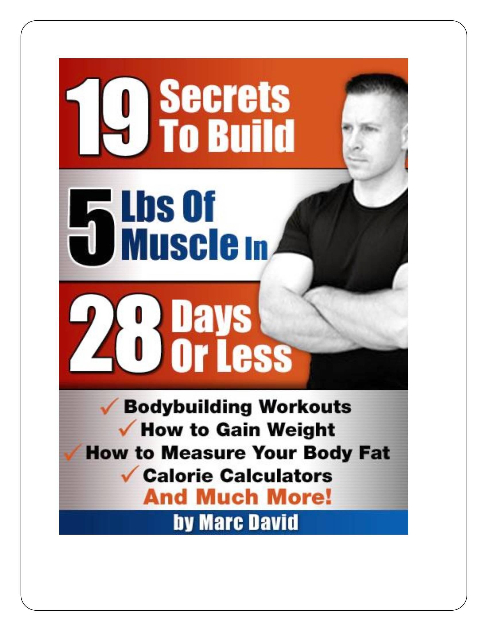 ترجمه کتاب 19 نکته برای ساخت 5 پوند عضله در 28 روز . آموزشگاه رایگان خوش آموز