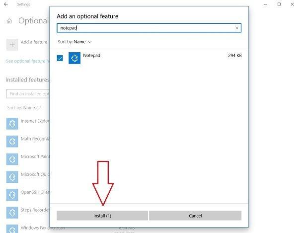 نحوه حذف یا نصب مجدد برنامه Notepad در ویندوز 10 . آموزشگاه رایگان خوش آموز