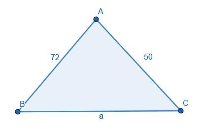 تمرین 12: قانون کسینوس، استفادۀ کاربردی