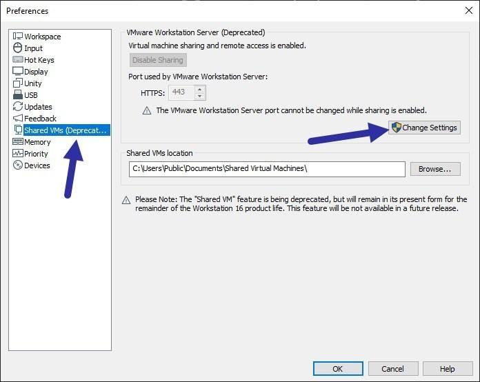 تداخل VMWare Workstation با نرم افزار دیگر و تغییر پورت پیشفرض 443 در VMWare  . آموزشگاه رایگان خوش آموز