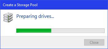 نحوه تنظیم کردن Storage Spaces در ویندوز . آموزشگاه رایگان خوش آموز