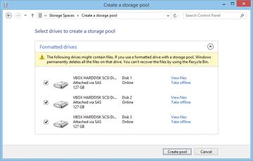 storage spaces و Storage pools در ویندوز . آموزشگاه رایگان خوش آموز