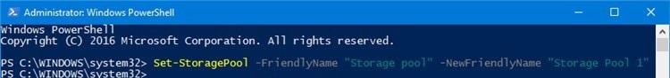 نحوه تغییر نام Storage Pool در ویندوز . آموزشگاه رایگان خوش آموز