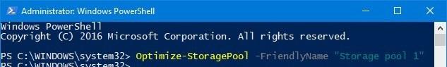 نحوه Optimize Drive Usage کردن در Storage Pool . آموزشگاه رایگان خوش آموز