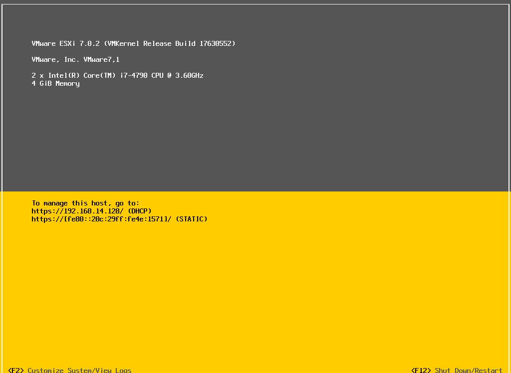 نصب vmware esxi 7 در VMWare Workstation . آموزشگاه رایگان خوش آموز