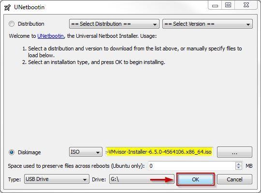 ایجاد فلش Bootable برای نصب ESXI . آموزشگاه رایگان خوش آموز