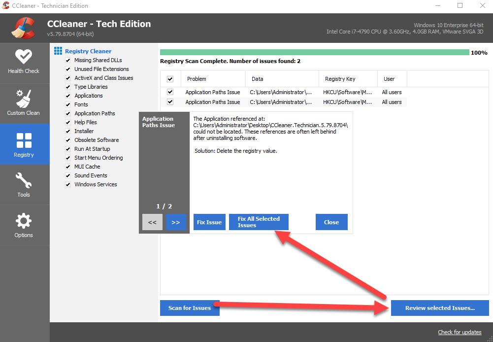 آموزش کار با نرم افزار CCleaner