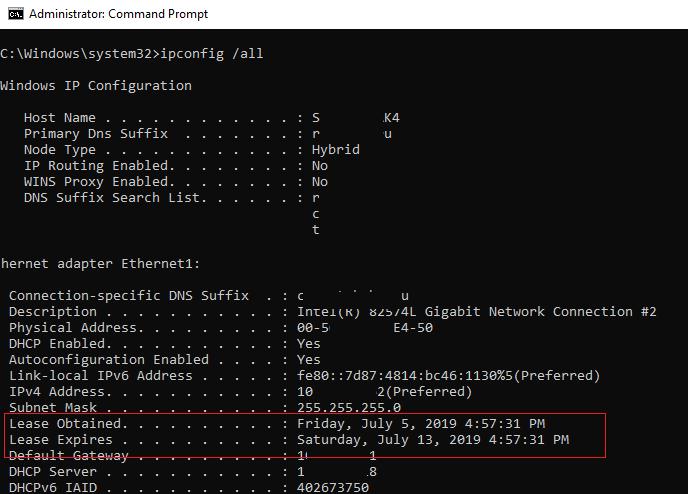 Lease Time در DHCP چیست و چگونه می توان آن را تغییر داد . آموزشگاه رایگان خوش آموز