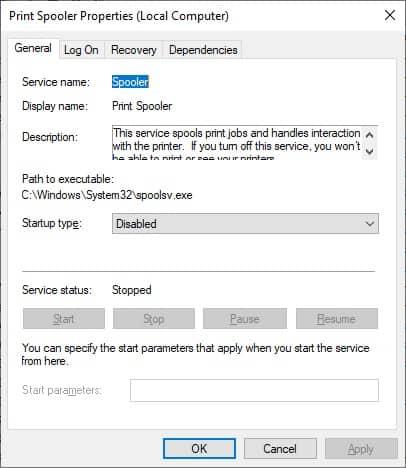 نحوه فعال یا غیرفعال کردن سرویس print spooler برای کامپیوترهای تحت دامین