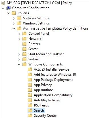 غیرفعال کردن Cortana برای همه کامپیوترهای عضو دامین