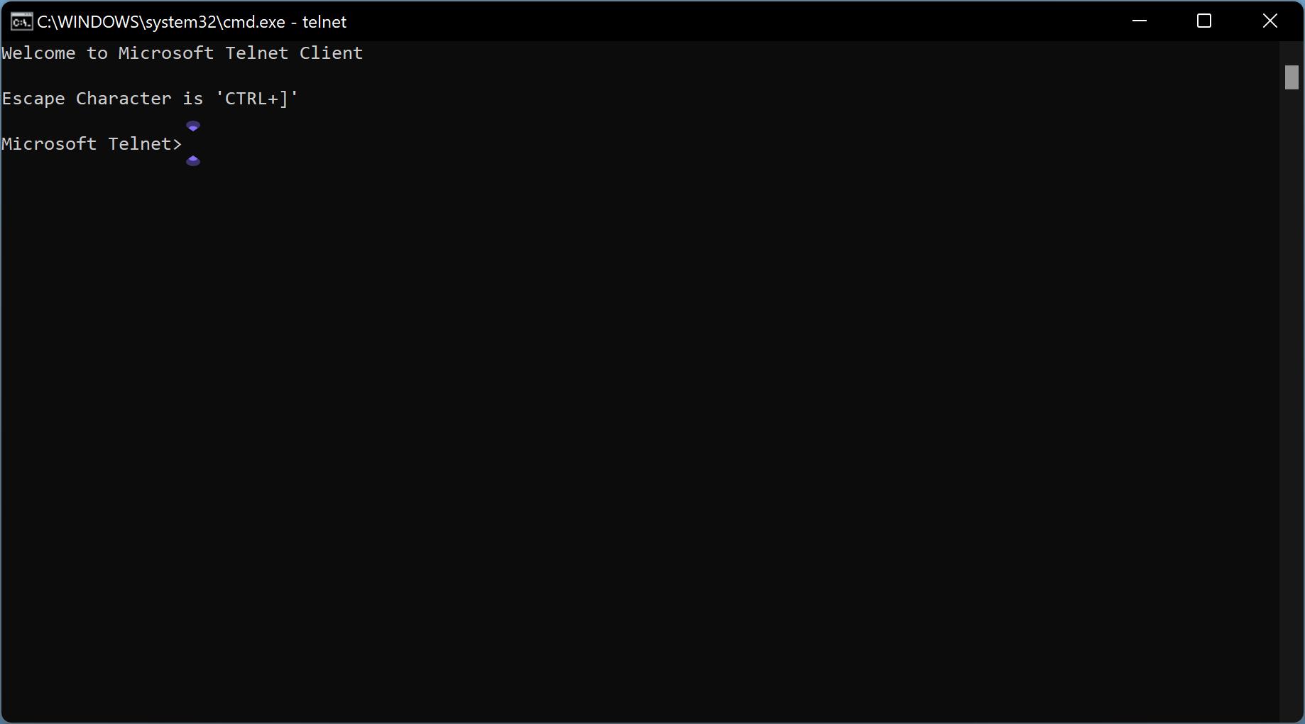 نحوه نصب Telnet در ویندوز 11