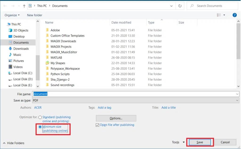چگونه حجم فایل های PDF را کاهش دهیم؟