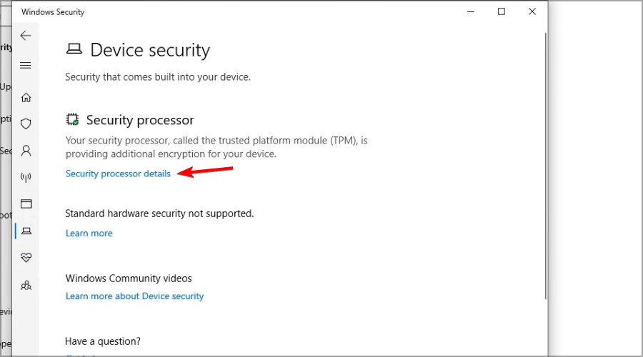 رفع ارور Your computer trusted platform has malfunctioned