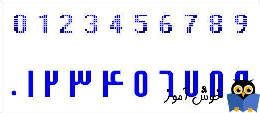 اعداد را در ویندوز فارسی کنیم!