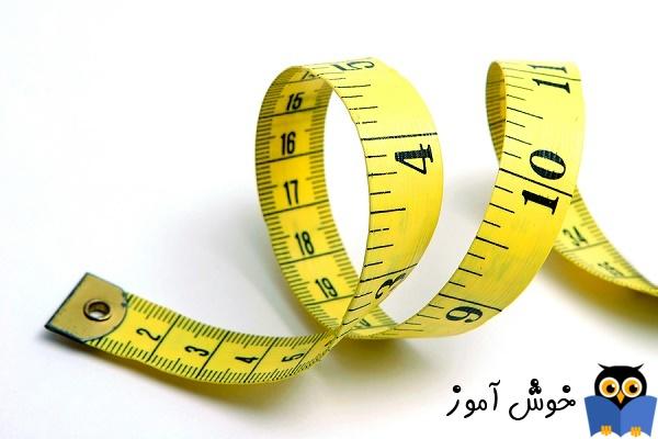واحدهای اندازه گیری