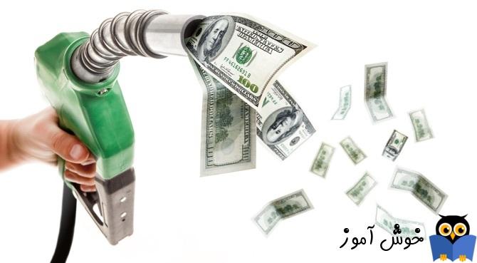 پرداخت هزینه از صندوق