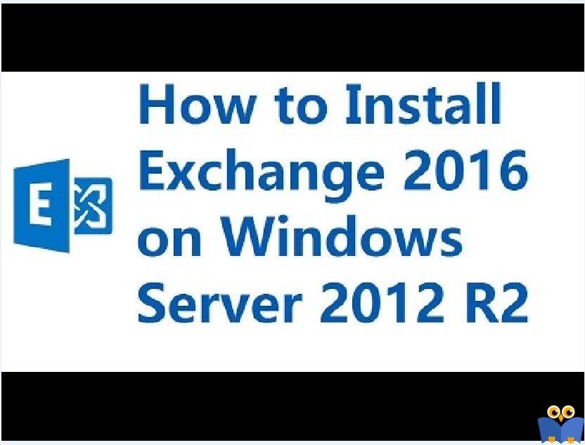 آموزش مایکروسافت exchange server 2016 - نصب Exchange Server