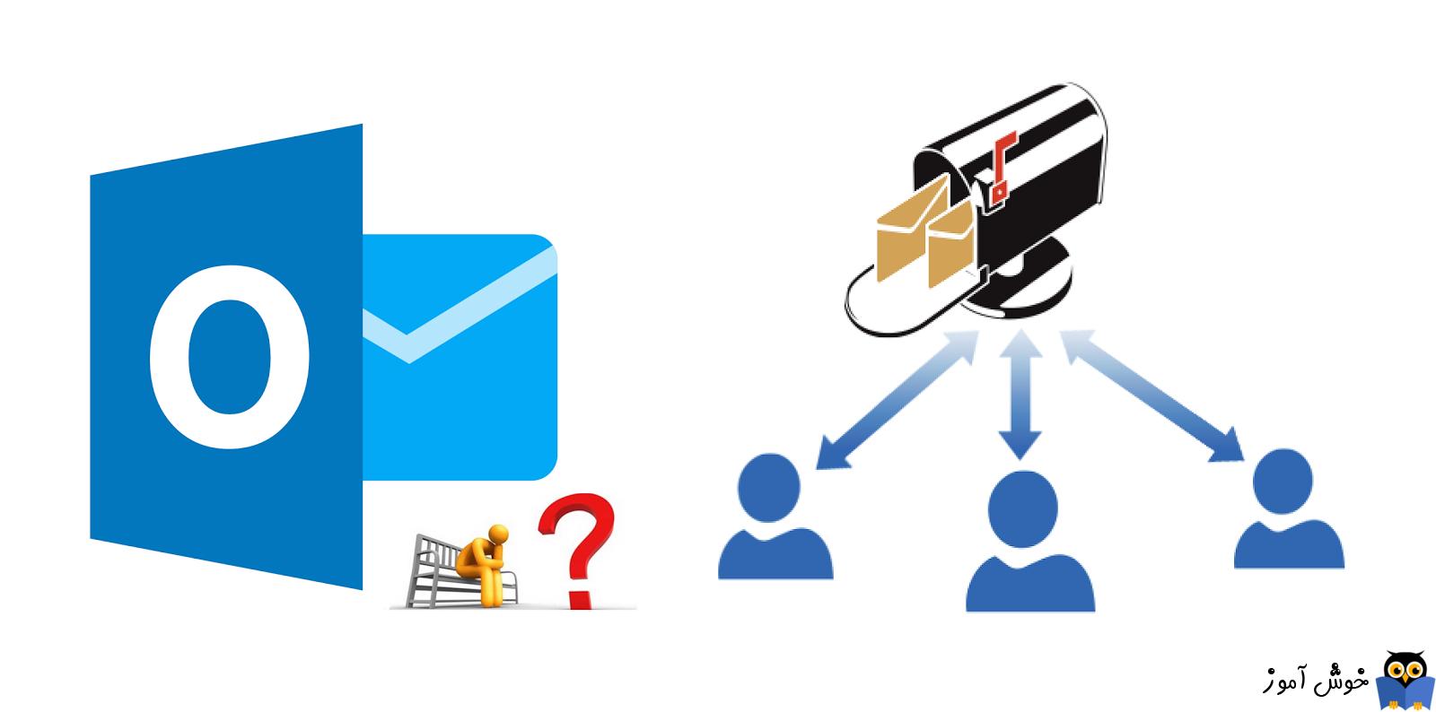 آموزش مایکروسافت exchange server 2016 - ایجاد shared mail