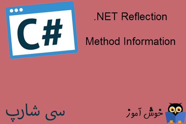 آموزش زبان #C : کار با Reflection در دات نت (Method Information)